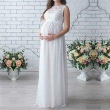 Sleeveless Lace Maternity Clothes