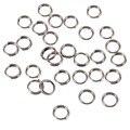 5x1.2mm; 10000pcs/bag 304 Stainless Steel Double Loops Jump Rings Split Rings, 304 Stainless Steel Color