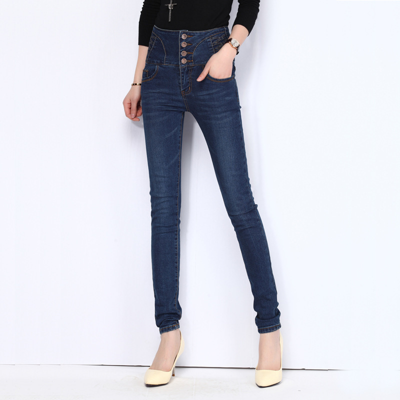 jean jacket jeans Picture - More Detailed Picture about skinny ...