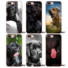 For iPhone XS Max XR X 4 4S 5 5S 5C SE 6 6S 7 8 Plus Samsung Galaxy J1 J3 J5 J7 A3 A5 Phone Bag Case The Labrador Retriever dogs(China)