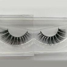 New 3D eyelashes Long Thick Dramatic Looking Handmade Mink Fur False Eyelashes For Makeup 1 Pair Pack