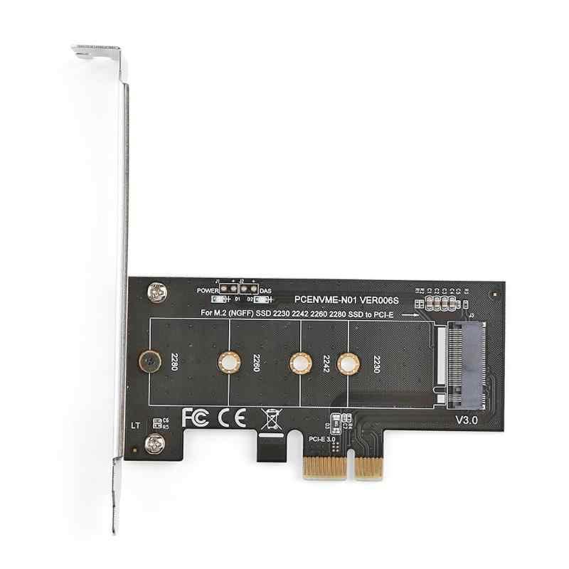 M.2 NGFF na kartę PCI-E 14 pci express 3.0X1 NVME M.2 M klucz NGFF SSD pcie M2 adapter do kart rozszerzających i niskoprofilowy uchwyt