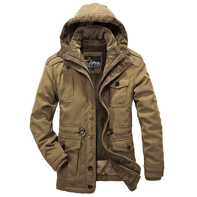 Winter Jacket Men Casual Thicken Warm Minus 40 Degrees Cotton-Padded Jackets Men's Hooded Windbreaker Parka Plus size 4XL Coats 2017 winter jacket men cotton padded thick hooded fur collar mens jackets and coats casual parka plus size 4xl coat male