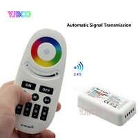 Nova 2.4G RF FUT028 Mi. Light LED RGBW controlador para RGBW LED Strip,. DC12-24V transmissão singal e grupo de sincronização