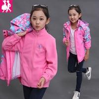 Spring Autumn Girls Boys Clothes Kids Sport Suits Children Casual 2pcs Suit Jackets Sport Suit Outwear