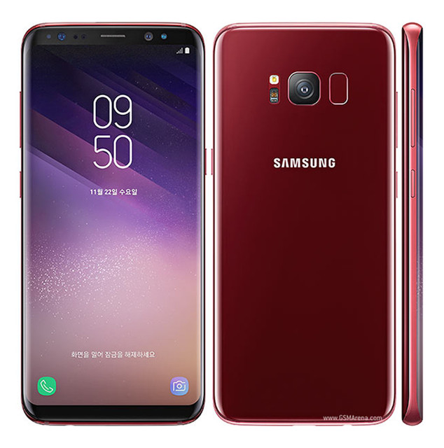 Samsung Galaxy S8+ S8 Plus G955U Original Unlocked LTE Android Cell Phone Octa Core 6.2″ 12MP RAM 4G ROM 64G Snapdragon 835 NFC