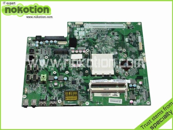 Motherboard for HP Pavilion MS200 MS215 MS218 570966-001 DA0ZN1MB6C0 REV C Radeon HD 3200 DDR2 Laptop Mother Board 517069 001 ms 7525 desktop motherboard for s5212y