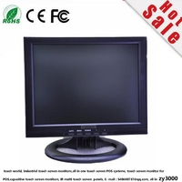 new stock 12 4:3 touchscreen monitor 1024*768 VGA DVI USB input cheapest touch screen display