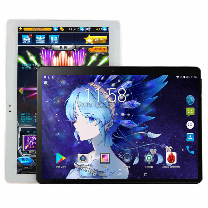 Google Android 8.0 10 inch tablet Octa Core 3G 4G FDD LTE Computer Pad 6GB RAM+128GB ROM 1280x800 IPS HD Media Pad Tablet 10.1