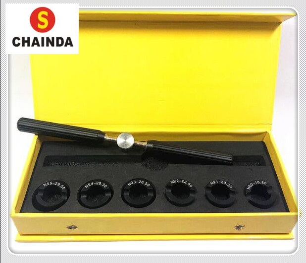 цена New 5537 Aluminum Alloy Watch Case Opener Tool for Watch Repair онлайн в 2017 году