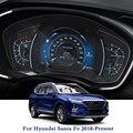 Für Hyundai Santa Fe 2018 Präsentieren Auto Styling GPS Navigation Bildschirm Glas Schutz Film Dashboard TPU Display Film-in Kfz Innenraum Aufkleber aus Kraftfahrzeuge und Motorräder bei