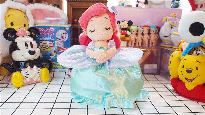La Petite Sirène Ariel Princesse 25 cm avec Couverture 70*100 cm En Peluche Enfants En Peluche Animaux Jouets Cadeaux