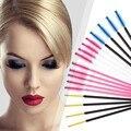 50 pçs/lote Feliz Cosméticos Chicote One-Off Descartáveis Para Cílios Pincel Aplicador Mascara Wand Brushes Pestana Comb Ferramenta Pincéis de Maquiagem