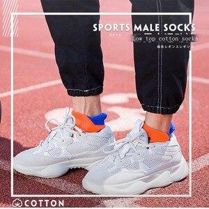Image 3 - 2020 marca nova meias esportivas dos homens terry algodão tornozelo meia masculina moda colorida de alta qualidade meias homens skate venda quente