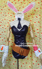 Game Anime LOL Blades Of Exile Riven Bunny Girl Cosplay Costume Sexy Fashion Uniforms Women's Dress