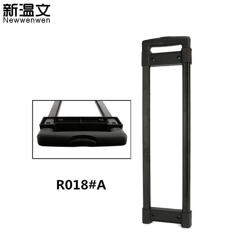 Luggage Replacement Telescopic Trolley Handle Parts Aluminium  Pull Rod Handles Repair Suitcase/Audio Box Handle R018#A