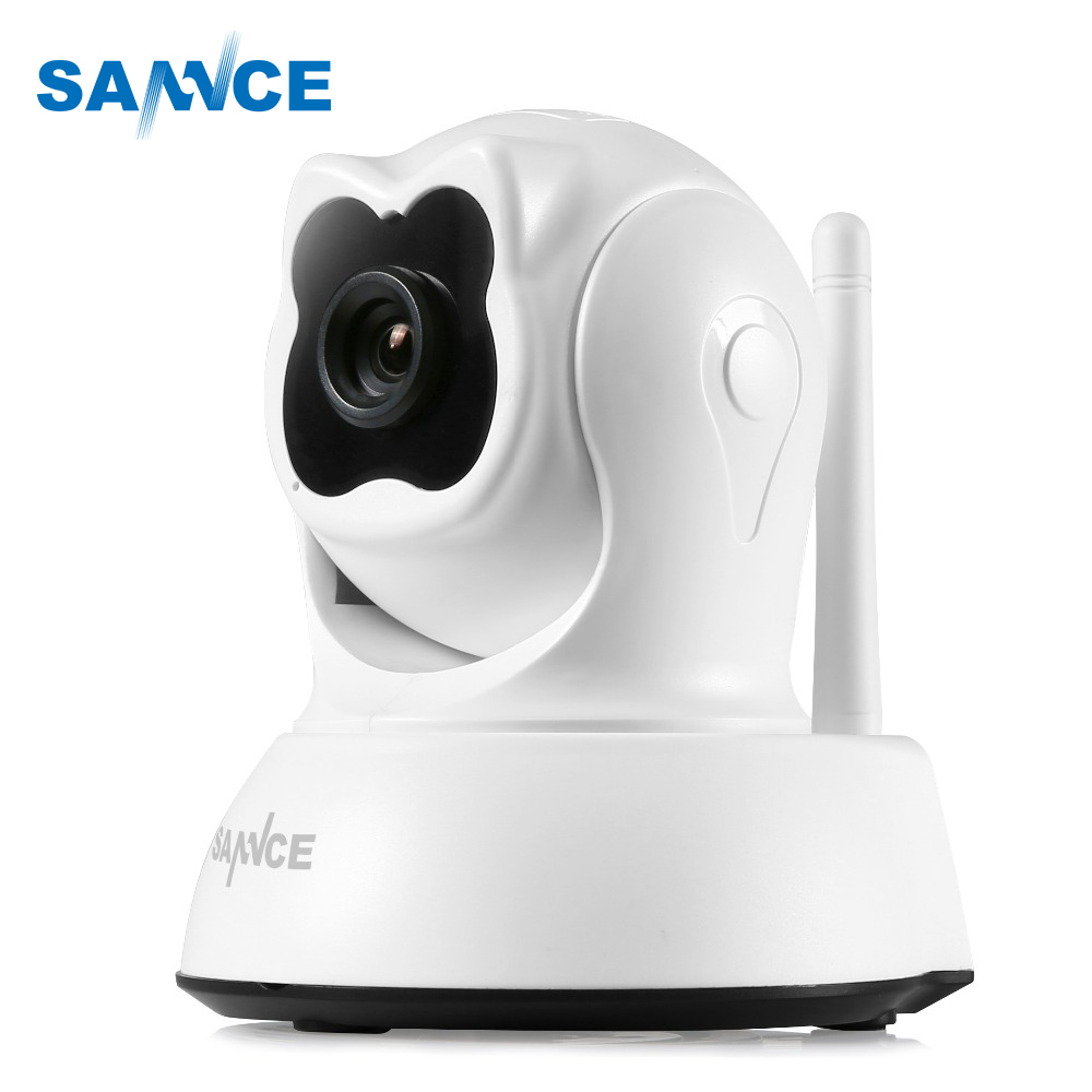 SANNCE Full HD 720P Smart Wireless IP Camera 1.0MP indoor Wifi Camera Surveillance Camera IR Cut  Home Security Baby MonitorSANNCE Full HD 720P Smart Wireless IP Camera 1.0MP indoor Wifi Camera Surveillance Camera IR Cut  Home Security Baby Monitor