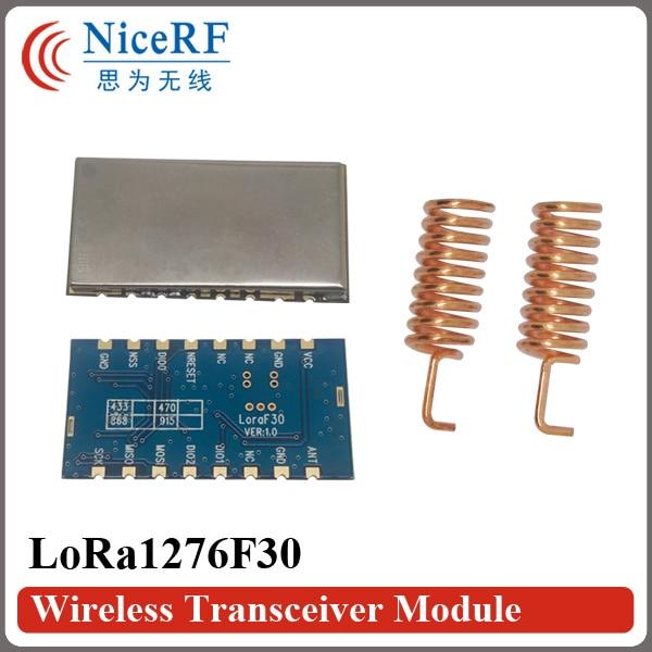 무료 배송 2 개 / 몫 Lora1276F30 1W 6-8km 장거리 및 - 통신 장비 - 사진 2