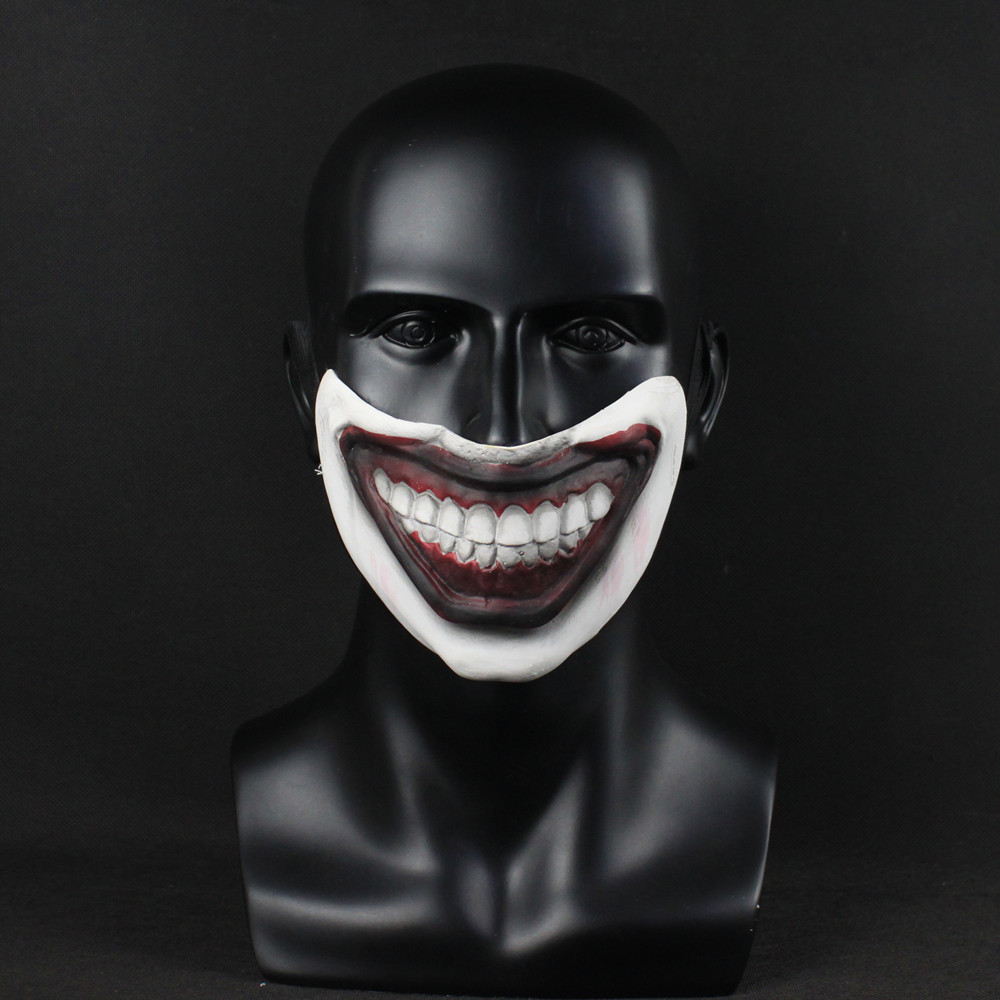 American Horror Story Mask Twisty Clown Cosplay Latex