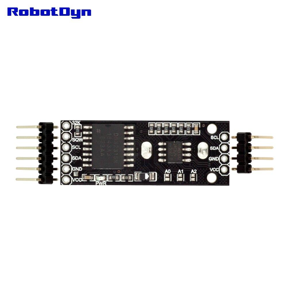 senza batteria RTC ds3231 Orologio in tempo reale-modulo