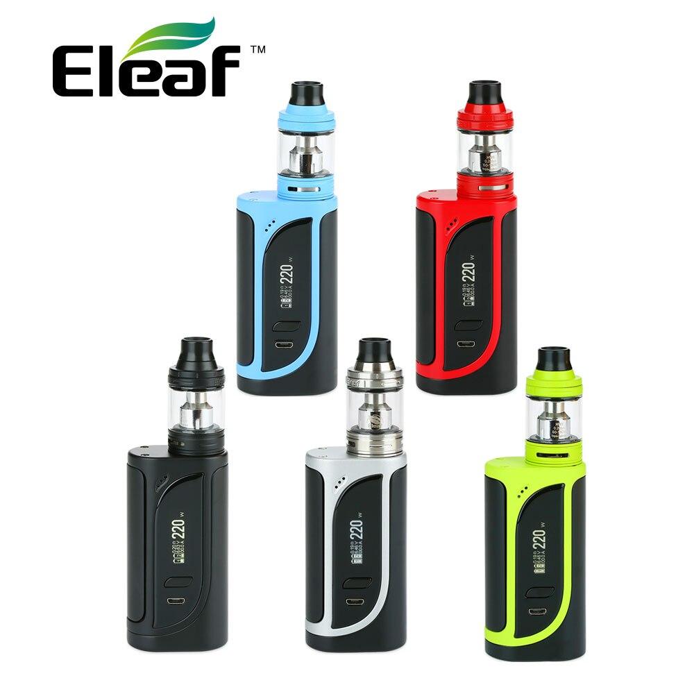 Originale Eleaf IKonn 220 Kit w/2 ml/4 ml Ello Serbatoio Max 220 W E-cig vape IKonn 220 Kit w/HW3/HW4 Bobina IKONN VAPE Kit vs alien kit