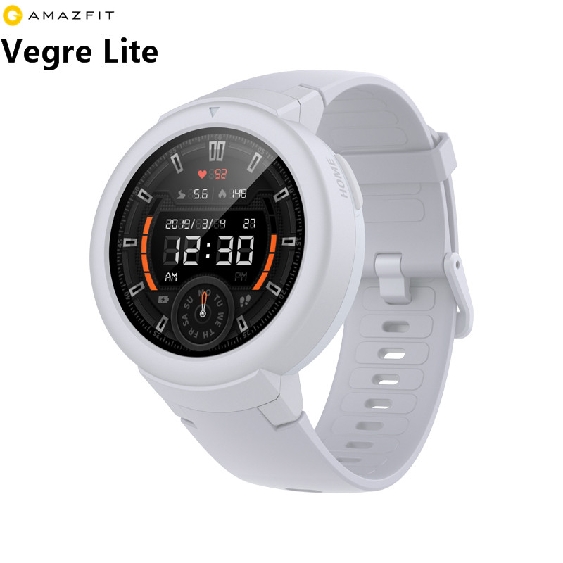 Amazfit Sport-Smartwatch Verge-Lite 20days-Battery-Life Xiaomi Huami Global-Version Sleep-Monitor