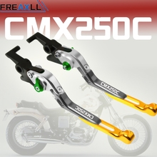 Motorcycle Accessories Extendable For Honda REBEL CMX250C brake Clutch Levers 1987 2003 2004 2005 2006 2007 2008 2009 2010 2011 motorcycle accessories for honda vtx1300 2003 2010 2004 2005 2006 2007 2008 2009 vtx1300c 2004 2005 foldable brake clutch levers