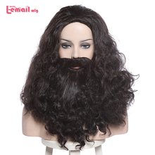 цена на L-email wig New Arrival Moive 4 Characters Halloween Cosplay Wigs Heat Resistant Synthetic Hair Peruca Cosplay Wig