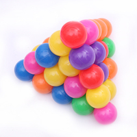 100pcs/set 8cm Secure Colorful Ball Soft Plastic Ocean Ball Funny Baby Kid Swim Pit Toy Water Pool Ocean Wave Ball