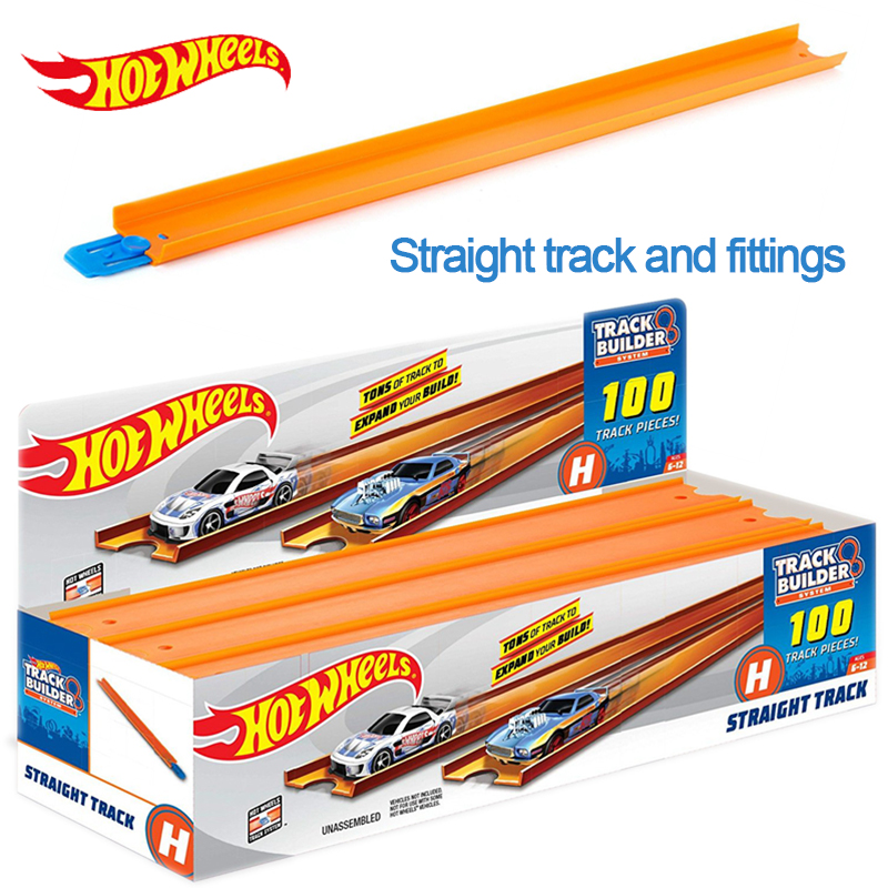 Hot Wheels Accessories Roundabout 124cm Track Toy kids Toys Model Plastic Miniatures Cars Track Educational Slot Car Toy BCT38