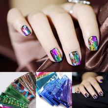 nail sticker 20PCS Foils Finger Nail Art Sticker Decal Transfer Stickers Tips Decor