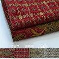 Width 1.48m  Flowers Chenille Sofa Cloth European Cushion Precision Chair Car Cover Material Fabric For Curtains