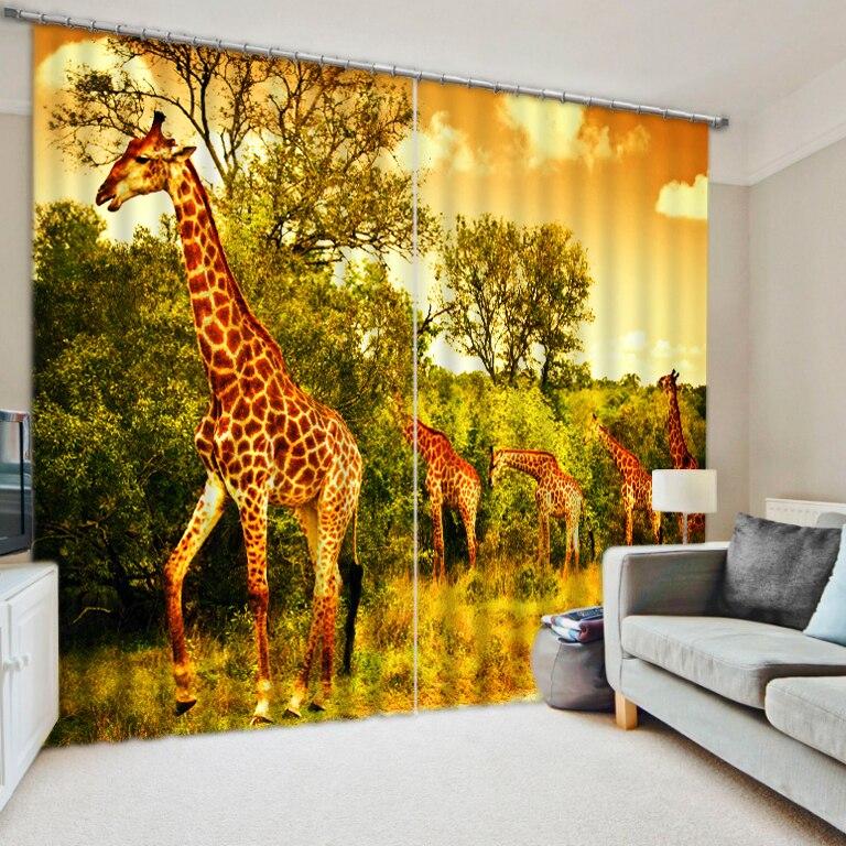 Online Get Cheap Giraffe Curtains -Aliexpress.com