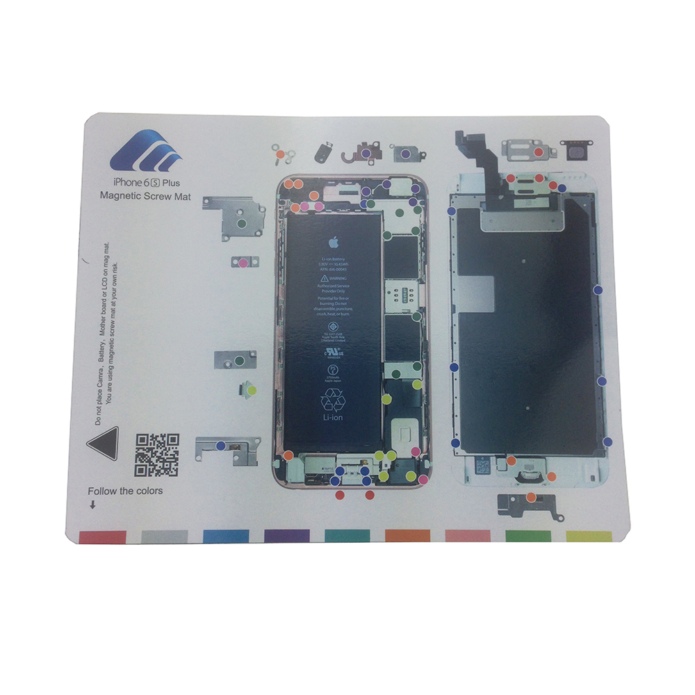 iphone 4 screw layout diagram ge spacemaker microwave parts new magnetic mat repair cell phone tool keeper chart guide pad for apple 6s plus 5 mobile repairing in hand sets from tools on