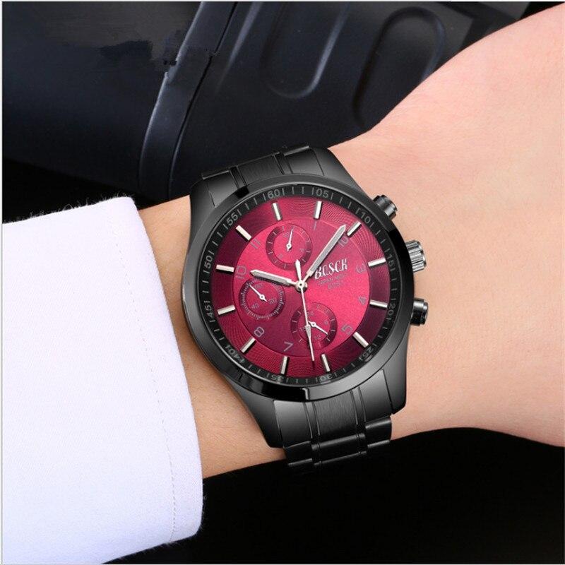 Для мужчин механические часы мужские часы, автоматический средней школы Водонепроницаемый ночник тенденция полые спортивные наручные час...