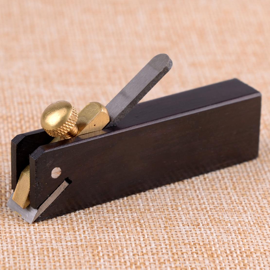 LETAOSK Black Mini Brass Scraper Block Plane Bullnose Wood Working Craft Planar Tool Carpenter