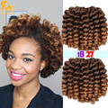 Bounce Jamaican Twist Crochet braids hair Jumpy Wand Curl Twist Braids 22roots African Collection Synthetic Hair Braiding