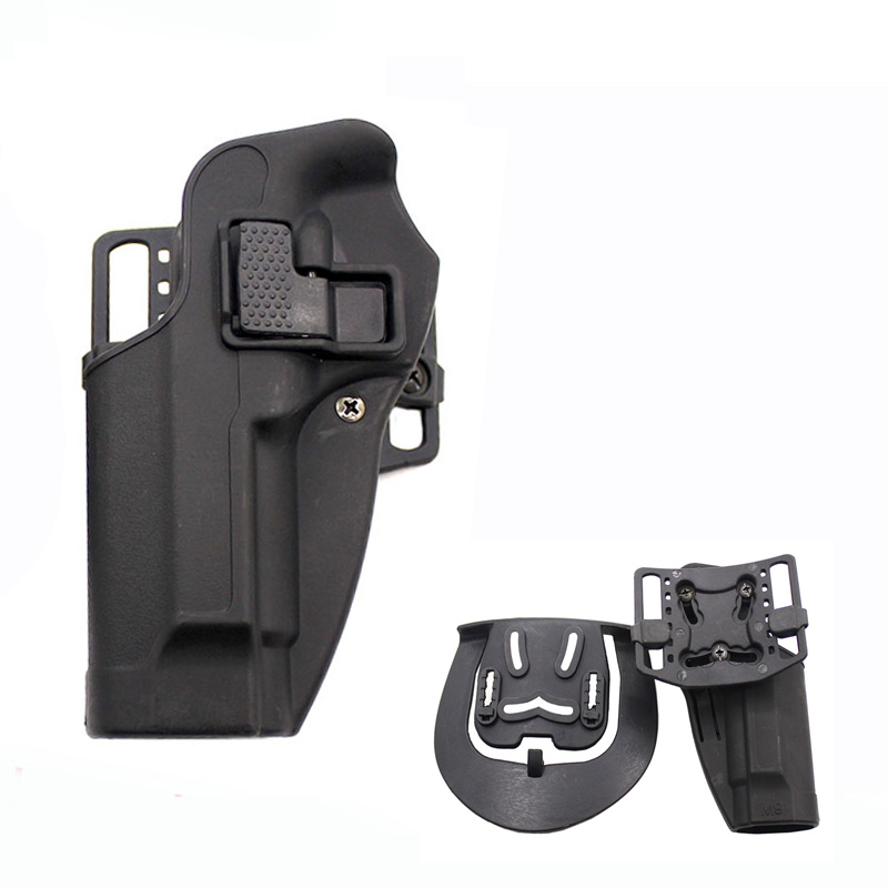 Good Tactical Gun Accessories Beretta M9 92 96 92fs Pistol Holster Military Airsoft Quick Drop Left/Right Hand Gun Belt Holster