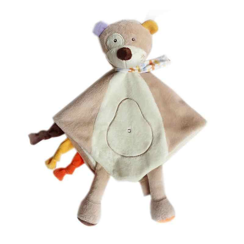 Marionnettes de haute qualité bébé sommeil apaiser jouet ours gris jouets en peluche outils d'alimentation cadeau nouveau-né pour enfants Parent