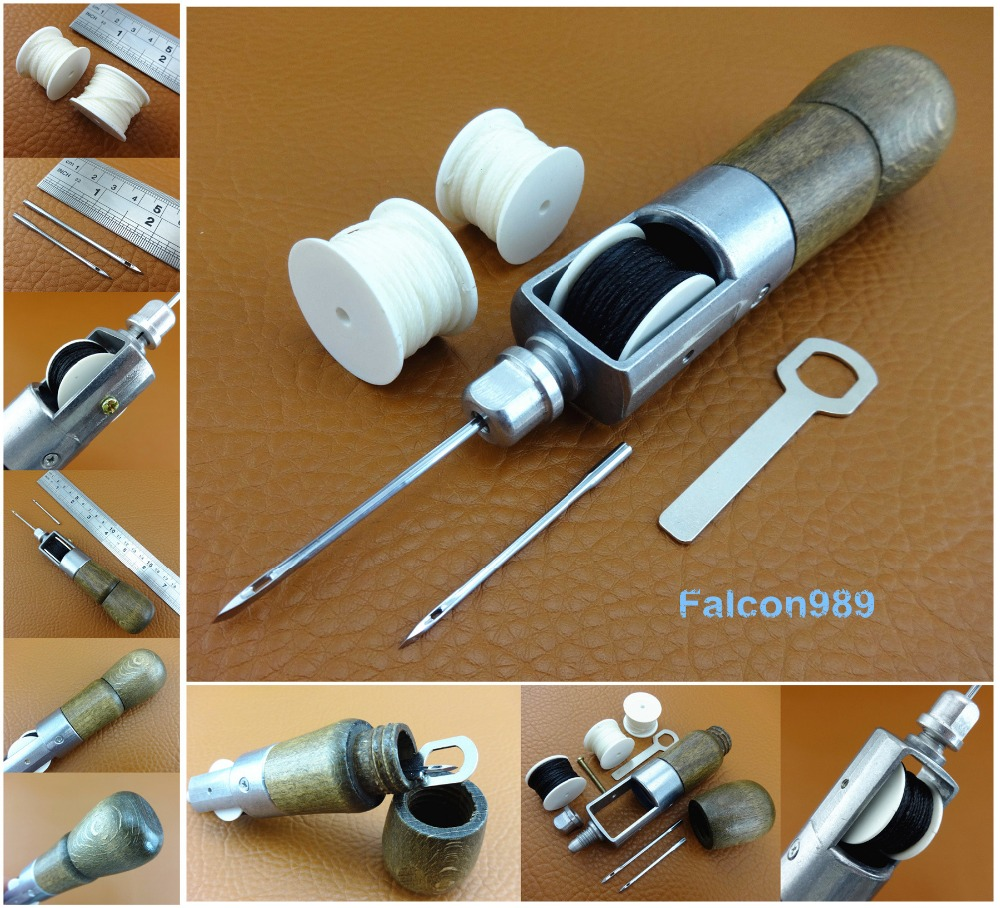 Leather Craft Automatic Lock Speed Stitcher Sewing Awl Spare Extra Thread Bobbin