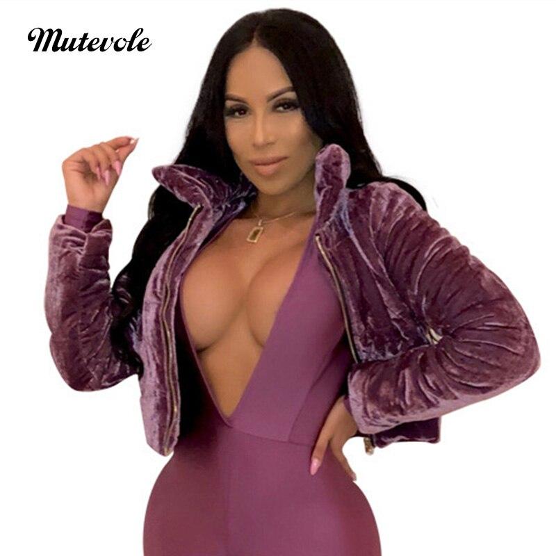 Mutevole Purple Open Front Crop Coat Women Fashion Fluffy Faux Fur Coat Winter Warm Solid Furry Fake Fur Cropped Jacket Overcoat