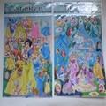 20 unids/lote 20*25 cm 2016 de la venta directa de una variedad de hermosas pegatinas princesa regalo de Los Niños etiqueta Al Por Mayor