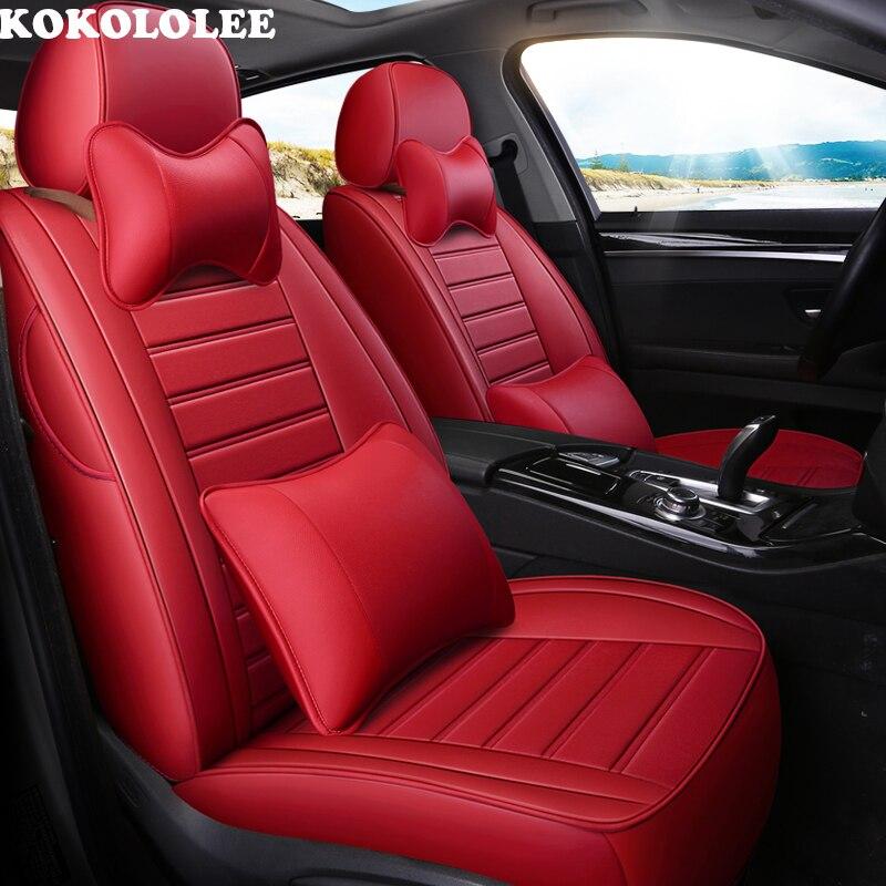 Kokololee housse de siège de voiture Pour ford focus 2 3 S-MAX fiesta kuga 2017 ranger mondeo mk3 accessoires couvre pour véhicule siège