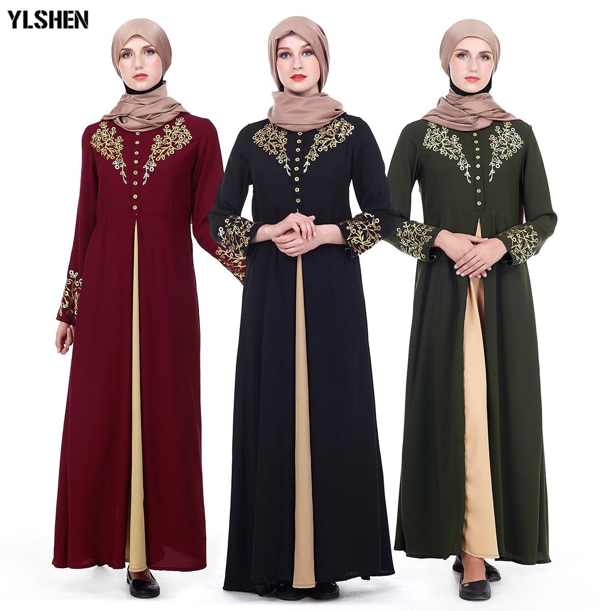 Plus Size Muslim Abaya Dubai Women Maxi Dresses Ramadan Moslim Prayer Robe Hijab Dress Kaftan Islamic Turkey Islamic Clothing