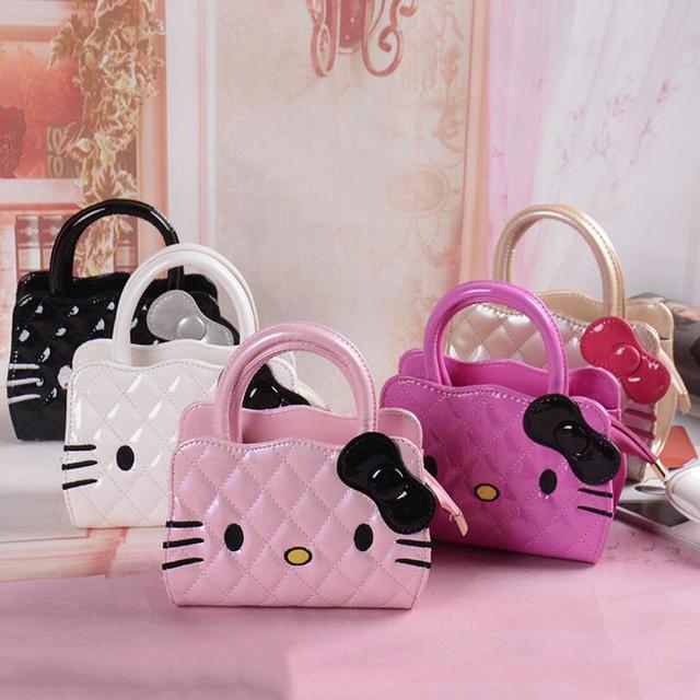 7b7dc36420 New designers mini cute bag children hello kitty Bowknot handbag kids tote  girls Shoulder Bag mini bag wholesale. Price