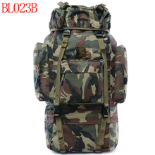 60L Waterproof Tactical Camouflage sprots backpack man travel outdoor Military male Mountaineering Hiking Climbing Camping bags