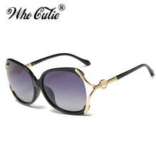 QUE GRACINHA 2017 Polarized Oversized Borboleta Pérola Óculos De Sol  Mulheres Catwalk Lady Óculos de Sol de Luxo Itália Marca OM. a248add8d2