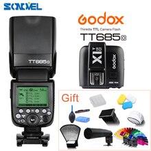 Godox TT685O TTL 2.4G wireless HSS 1/8000s GN60 Camera Flash speedlite + X1T-O Transmitter For Olympus Panasonic DMC-FZ2500GK