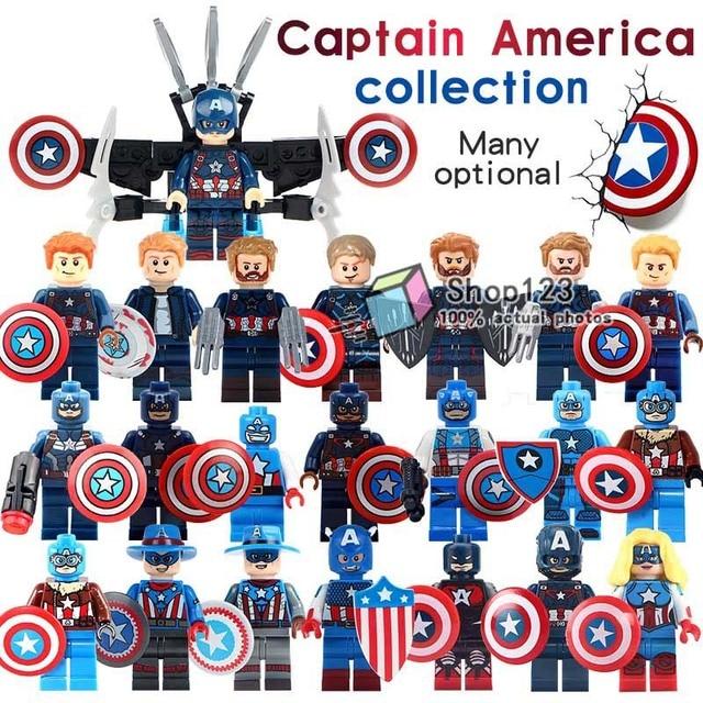 20 Pcslot Captain America Loki The Falcon Marvel Super Heroes