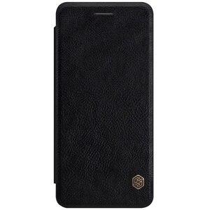 Image 2 - Samsung Galaxy Not Note FE için (Fan Baskı) durumda Nillkin Qin Vintage Deri Kart Kapak Çevirin Samsung Not FE Telefonu Çanta